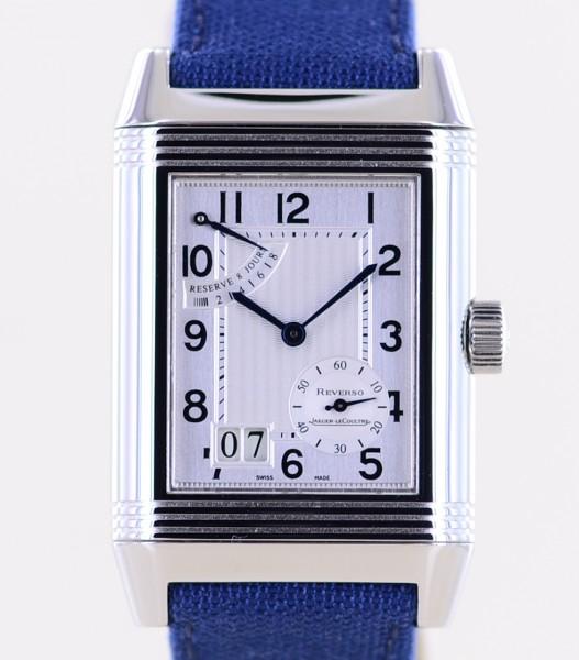 Reverso Grand Date 8-Tage Werk Power Reserve blue Dresswatch