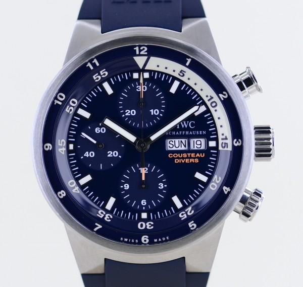 Aquatimer Costeau Tribute to Calypso Diver limited Edition blue Sammler