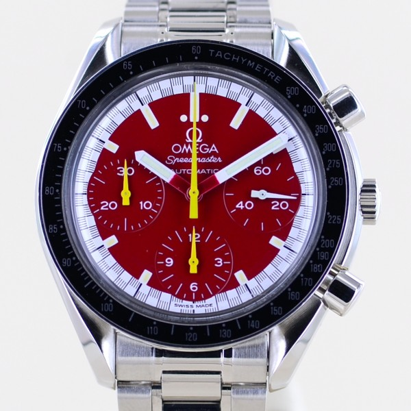 Speedmaster Automatic Chronograph Michael Schumacher red Racing rar