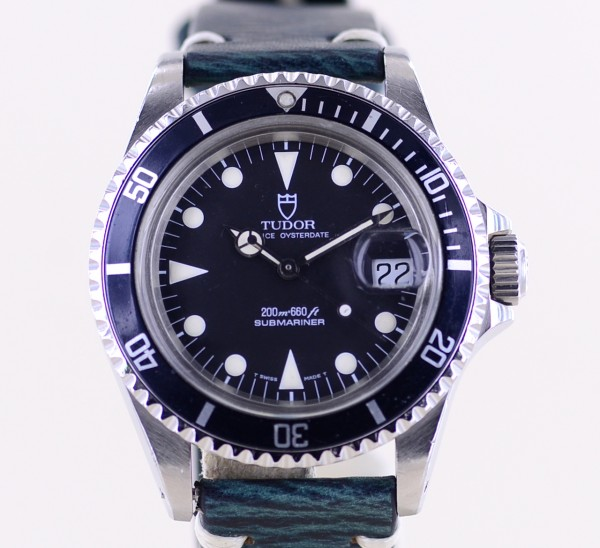 Prince Oysterdate Submariner 200 Klassiker Tritium Plexiglas 79090 80s Vintage