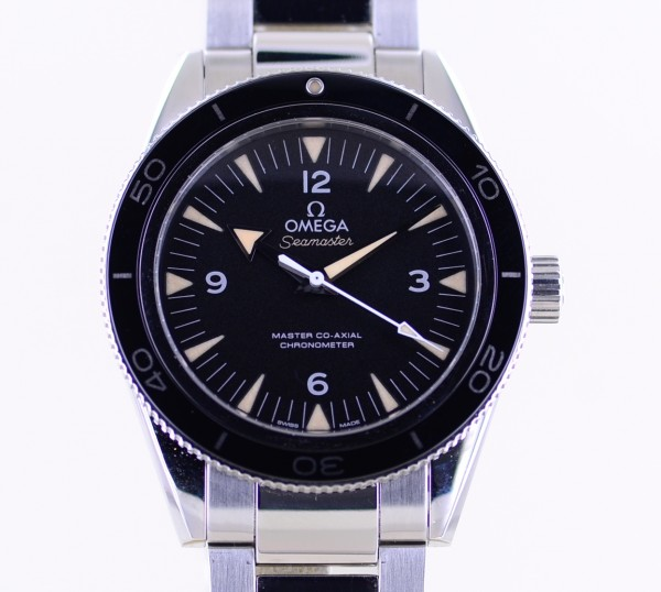 Seamaster 300m Co-Axial Master Chronometer 41mm Top black No-Date Diver B+P