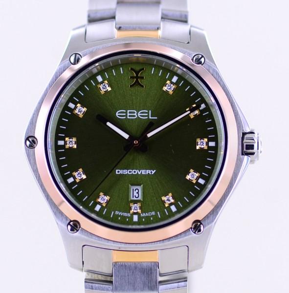 Discovery Stahl Roségold 3 Seasons 2020 green Diamond Dial B+P 2020