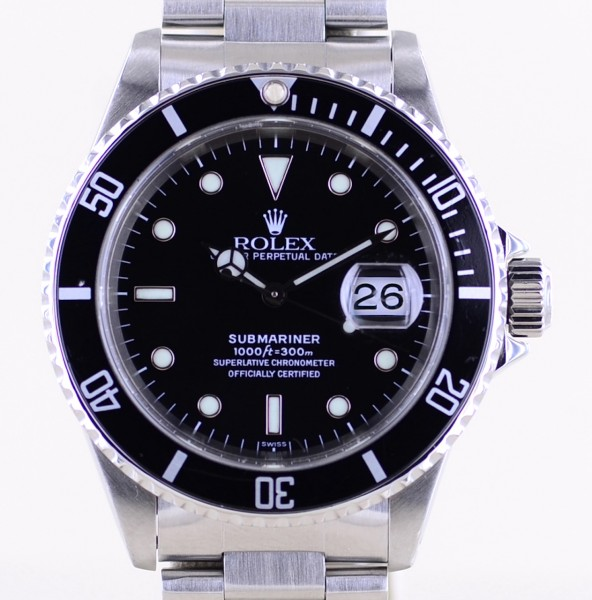 Submariner Date 16610 Klassiker A-Serie Diver Automatic Swiss Only