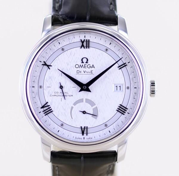 DeVille Prestige Co-Axial Power Reserve Date Chronometer Neu B+P