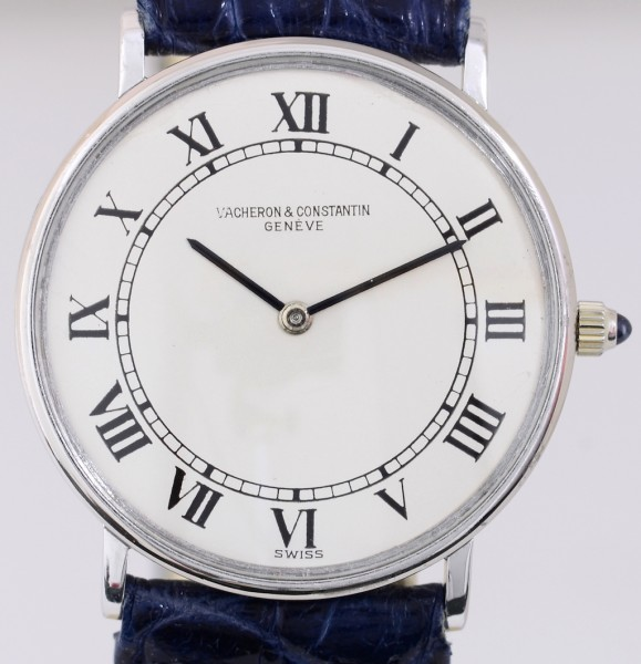 Vacheron & Constantin 18K White Gold roman dial Dresswatch 30mm Cal. 1003 Unisex