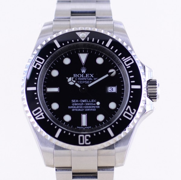 Sea-Dweller Deepsea Diver 3900M 44mm Taucheruhr 116660 B+P NOS 2008