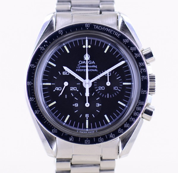 Speedmaster Professional Chrono Moonwatch Tritium Vintage 1974 Stahlband 861