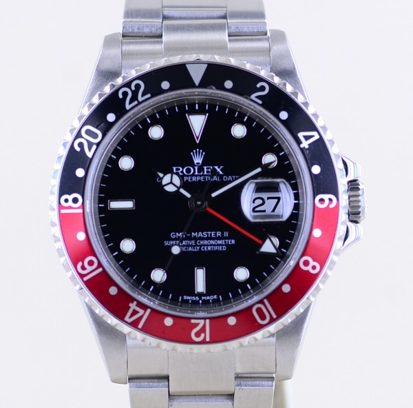 GMT Master II 16710T Coke Oysterband D-Serie SEL Closed Lugs B+P