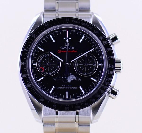 Speedmaster Moonwatch Chronograph Co-Axial 44,25mm Cal 9904 Mondphase ungetragen