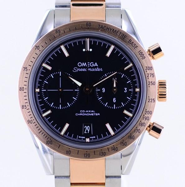 Speedmaster 57 Co-Axial Chronometer Chronograph 41,5mm Stahl Roségold B+P 9300