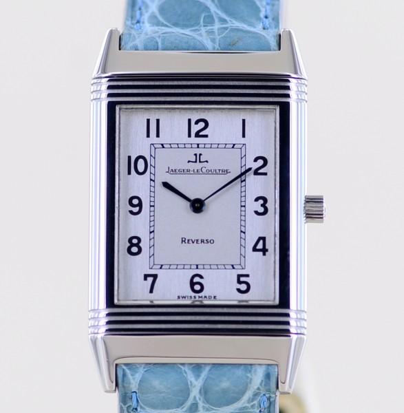 Reverso Classique Unisex Stahl Klassiker Dresswatch B+P Medium Handaufzug