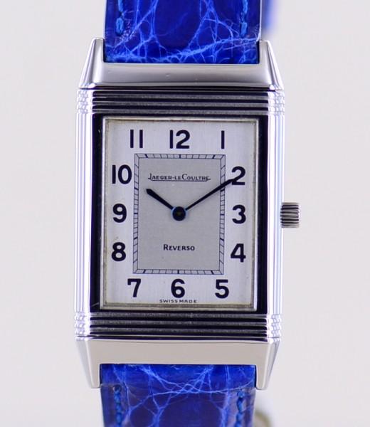 Reverso Classique Unisex Stahl Dresswatch Medium Stahlband Faltschließe