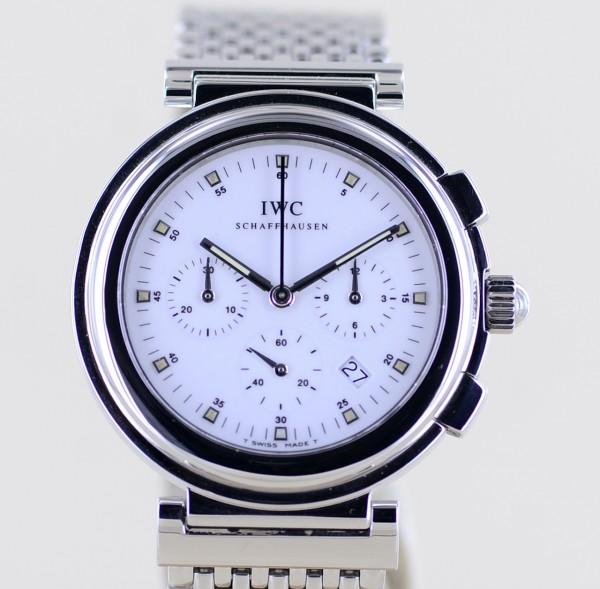 Da Vinci Chronograph SL Mechaquartz 630 Klassiker Rarität Stahlband white Dial