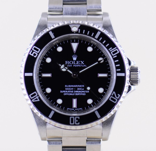 Submariner 14060M No-Date 4-Liner Oysterband rehaut M-Serie Klassiker