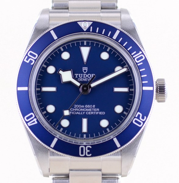 Black Bay Fifty-Eight blue Top No-Date 2020 B+P Diver Stahlband