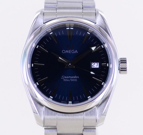 Seamaster Aqua Terra 150M 36,2 mm blue Dial Cal 1538 Quartz Unisex