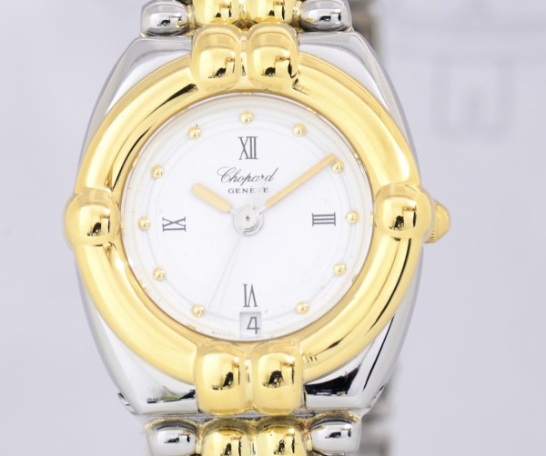Chopard Gstaad Ladies Luxus Uhr Stahl/ Gold Top Klassiker