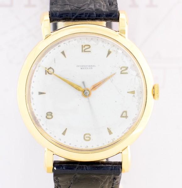 IWC 18K Gelbgold Vintage Dresswatch Schaffhausen Cal. 89 Top