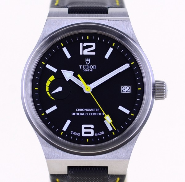 North Flag Power Reserve black yellow 40mm Automatic MT5621 B+P