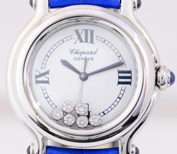 Chopard Happy Sport Flying Diamonds medium Lady Quarz Edelstahl Luxus Top