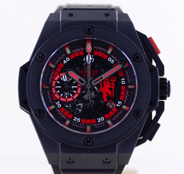 Big Bang King Power Unico Red Devil Chronograph Manchester 48mm Limited Edition