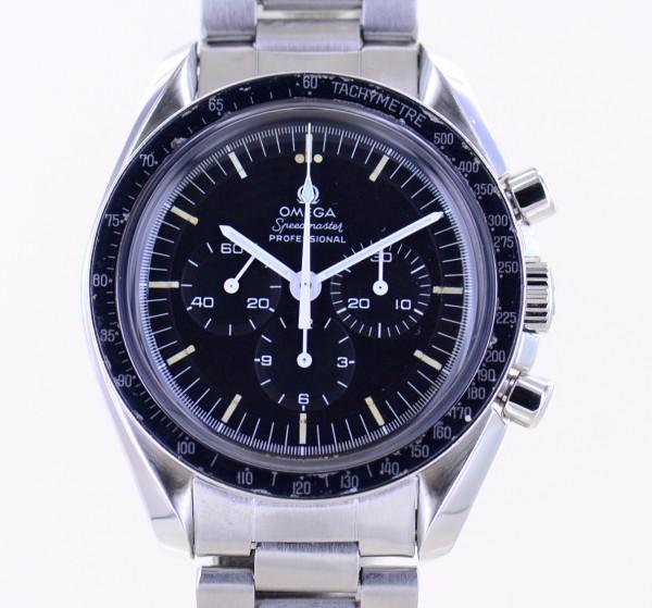 Speedmaster Professional Chrono Moonwatch Tritium Vintage 1971 Stahlband 861