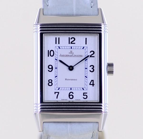 Reverso Classique Unisex Stahl Klassiker Dresswatch Medium Handaufzug