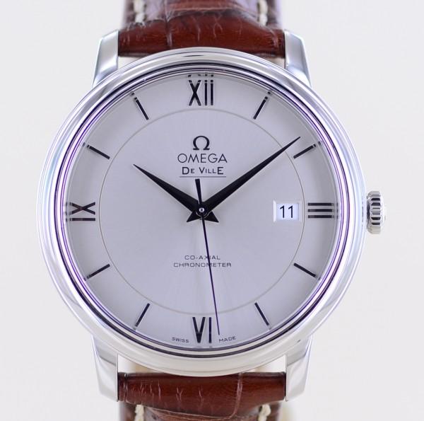 DeVille Co-Axial Automatic Chronometer grey Dial Klassiker Dresswatch