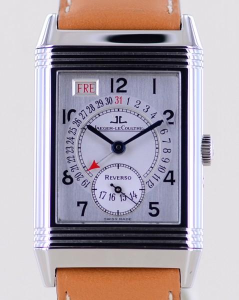 Reverso Grand Taille Stahl Klassiker Day Date arabic dial Klassiker rar Box