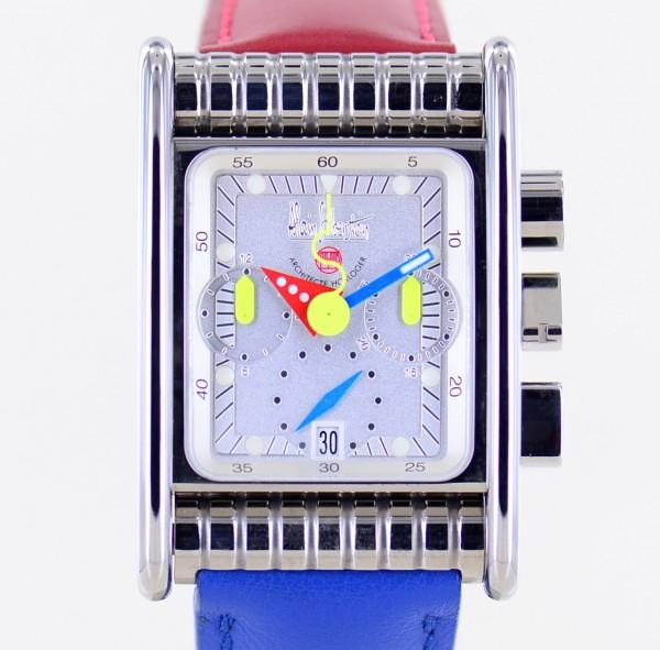 Bolido Krono silver Dial Limited Chronograph Automatik Titan 500 Stück rar