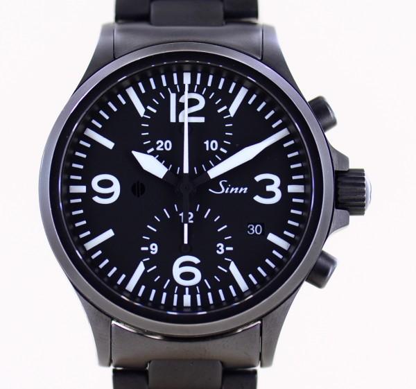756 S Duochronograph Stahl Black Schwarz Ar 40mm Sportlich Automatik B+P