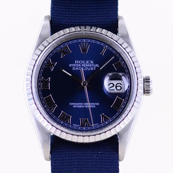 Datejust 16220 silver stick dial Jubiléband Stahl L-Serie 1988 Klassiker Top