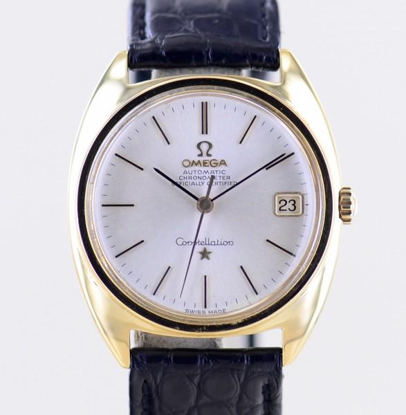 Constellation Automatic COSC Vintage 18K Gold Chronometer Luxus 70er rar