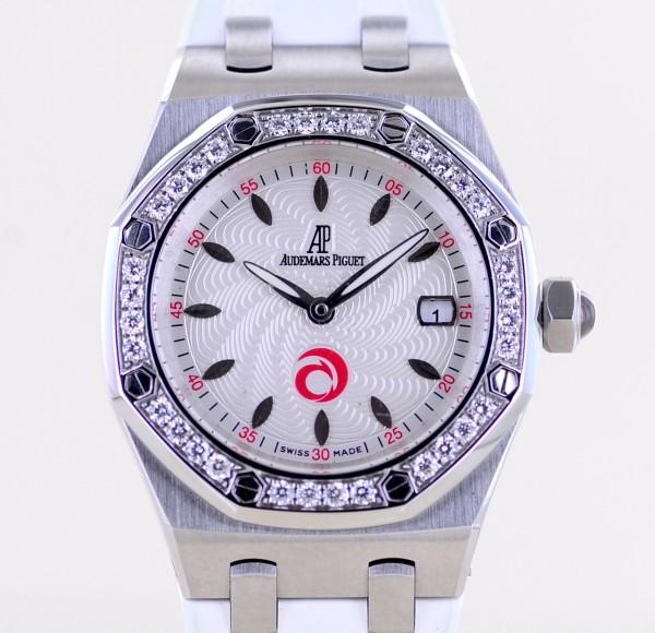Audemars Piguet Royal Oak Lady Alinghi Limited Edition Luxus Diamantlünette