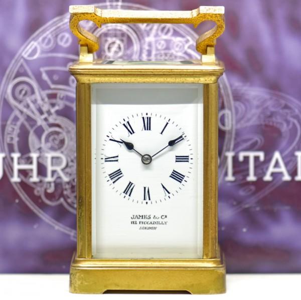 London Tischuhr Reiseuhr Carriage Clock Stiluhr selten