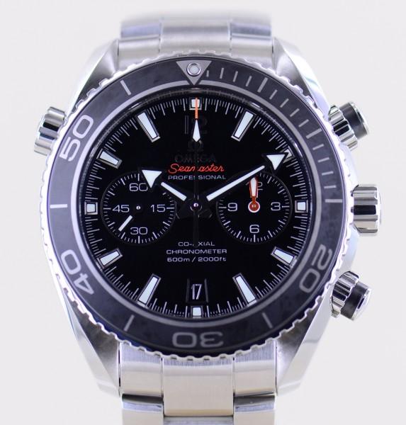 Seamaster Planet Ocean Chronograph Co-Axial 45mm B+P 600M Diver cal. 9300