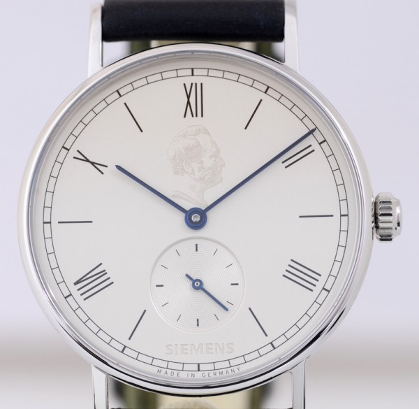 Nomos Ludwig Siemens Edelstahl roman dial Nomos Dresswatch Klassiker Alpha