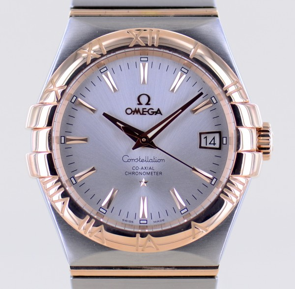 Constellation Co-Axial Stahl Rotgold Automatic Cal. 2500 Klassiker Unisex rar