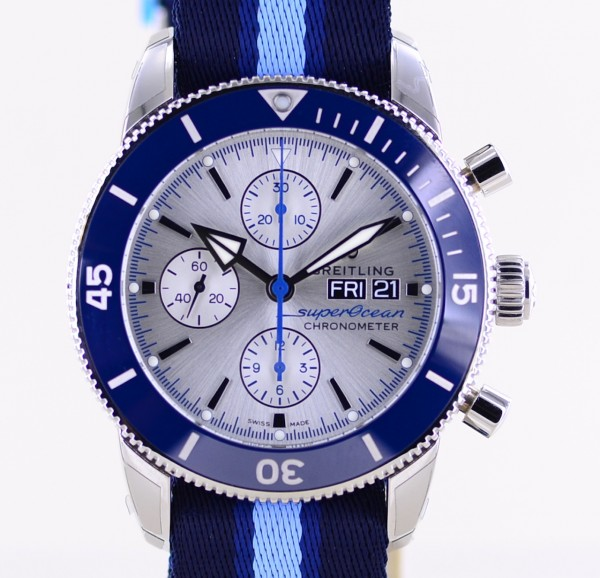 Superocean Heritage II Conservancy Limited Edition Chronograph 44mm Diver ungetragen