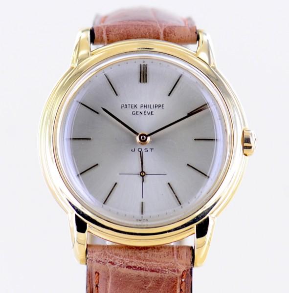 Patek Philippe Calatrava 18k Vintage Gold-Rotor small second Cal. 27-460