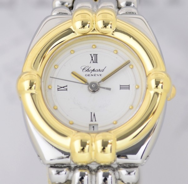 Chopard Gstaad Ladies Luxus Uhr Stahl/ Gold Top Klassiker Dresswatch
