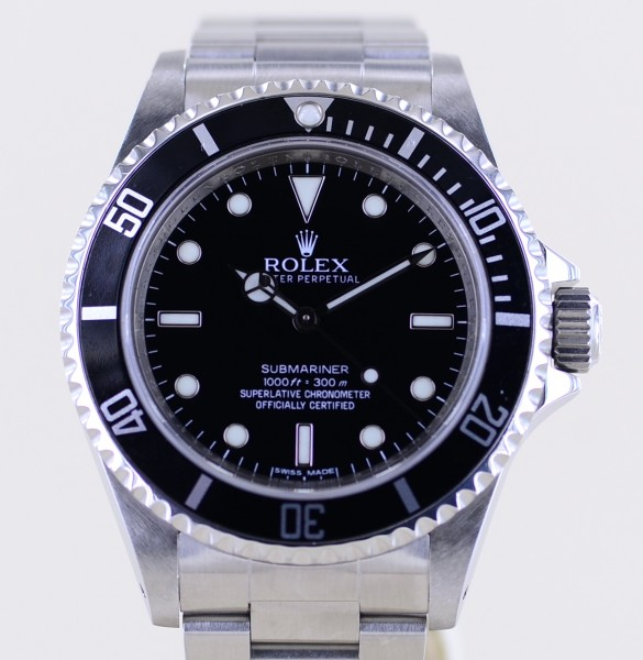Submariner 14060M No-Date 4-Liner Oysterband rehaut last edition B+P