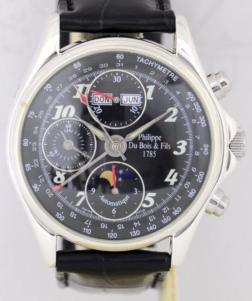 Automatique Collection Musee Chronograph 925 Silber Calendar Mondphase Limited