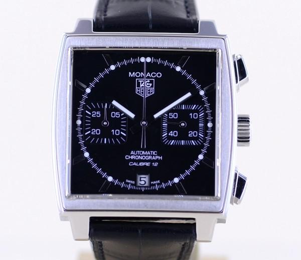 Monaco Chronograph Steve McQueen Automatic Saphir Klassiker Calibre 12 Top B+P