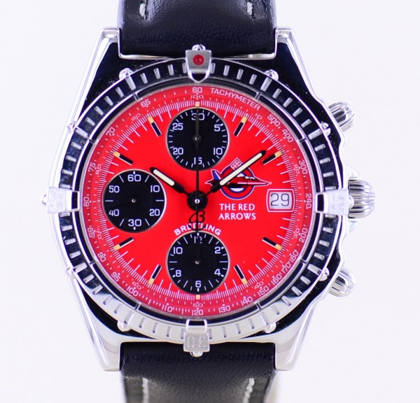 Chronomat Red Arrows Automatic red Dial 39mm Steel rar Limited