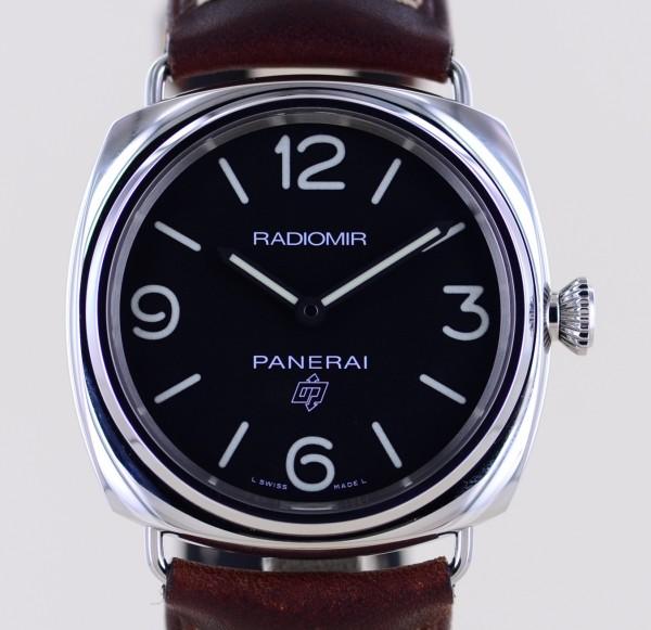 Radiomir PAM 00753 45 mm Cal P6000 Black Handaufzug B+P Klassiker