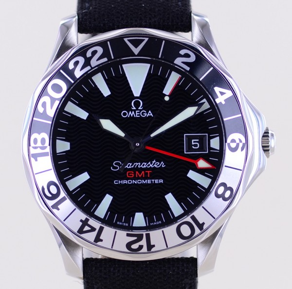 Seamaster GMT 50 Years 300m James Bond 41mm Anniversary Limited
