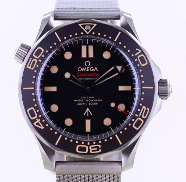 Seamaster 42 No Time to die James Bond 007 limited edition ungetragen B+P