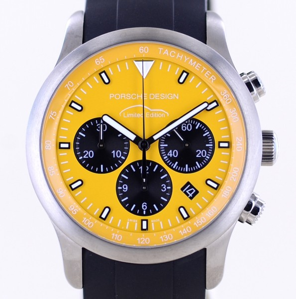 Dashboard Chronograph Automatic P6612 Limited Titan Sport Yellow Dial Top Date B+P