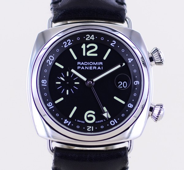 Radiomir PAM 00184 42 mm Cal OPXII Jaeger Automatic GMT Date Limited